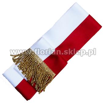Góra Szarfa do sztandaru - biało czerwona LE91
